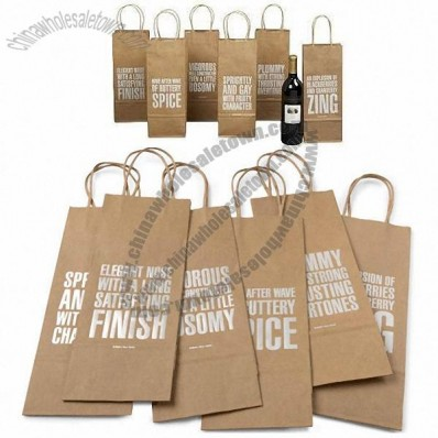 Witty Wine Bags