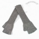 Women' s Lambswool Machine Knitted Gloves