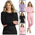 Women's 100% Cotton 2-Piece Thermal Underwear Set