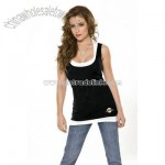 Women's 2-Layered Racer Back Tank Top