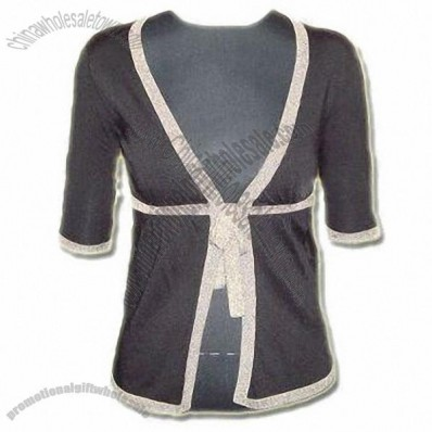 Women's Cardigan with Short Sleeves