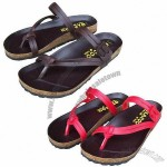 Women's Fabulous Sandals, Suede Leather with Molding Footbed Insole, Rubber Foam Outsoles