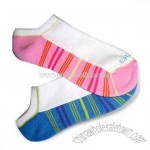 Women's Low-cut Socks with Half Terry