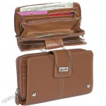 Women's Organizer Clutch Wallet