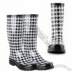 Women's Reena Houndstooth Rainboot