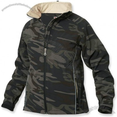 Women's Soft Shell Zippered Jacket