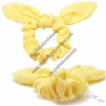 Women's Yellow Elastic Hair Bands