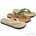 Wood EVA Beach Flip-flops