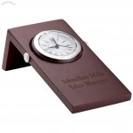Wood Executive Office Clock Stand