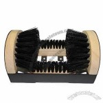 Wood PP Bristle Boot Scrubber
