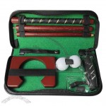 Wood Three-section combination Golf Club Practice Kit