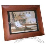 Wood digital photo frame