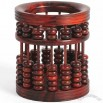Wooden Abacus Pen Holder
