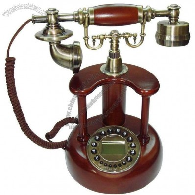 Wooden Antique Telephone