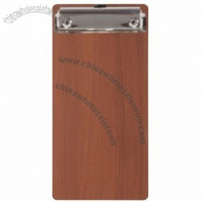 Wooden B6 bill fold Clipboard