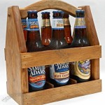 Wooden Beer Tote Box