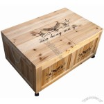 Wooden Beverage Cooler Box