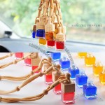 Wooden Bottle Cap Hanging Perfumes for Cars