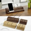 Wooden Business Card Holder Mobile Phone Holder and iPad Stand