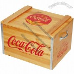Wooden Coca-Cola Box Cooler