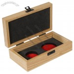 Wooden Coin and Medal Display Box