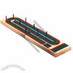 Wooden Cribbage, Folding Design