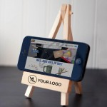 Wooden Easel CellPhone Holder