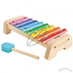 Wooden Eight Key Xylophone Preschool Toy