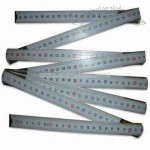 Wooden Folding Ruler 2m/10 Folds