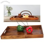 Wooden Fruit Tray - Tableware Tray