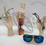 Wooden Hand Form Sunglasses Holder - Glasses Display Stand