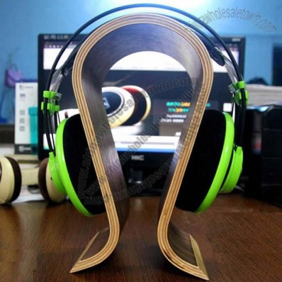 Wooden Headphones Stand/Hanger/Holder