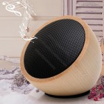 Wooden Hemispherical Bluetooth Speaker