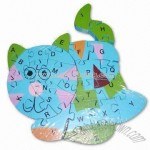 Wooden Jigsaw Puzzle Game