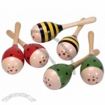 Wooden Maracas Musical Toy