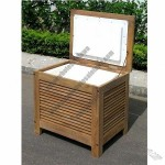 Wooden Patio Cooler Box