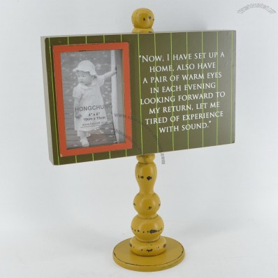 Wooden Photo Frame or Menu Holder for Decoration