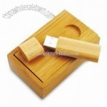 Wooden Pocket Clip USB Flash Drives