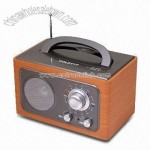 Wooden Radio with Nice Design