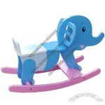 Wooden Ride on Rocking Horse, with Elephant Design
