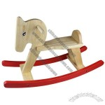 Wooden Rocking Horse, for Kid Age 3-5