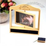 Wooden Rotating Photo Frame