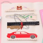 Wooden Ruler - Shoe, Car, Bear, Clothes hanger