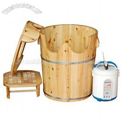 Wooden Steam Foot Sauna