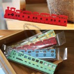 Wooden Train Ruler