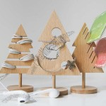 Wooden Tree Desk Organizer Set