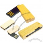 Wooden Twister USB Flash Drives