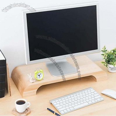 Wooden Unibody Monitor / iMac Stand