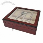 Wooden Watch Box, Made of MDF, High Glossy