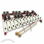 Wooden Xylophone Toy, Made of Solid Wood or Bamboo